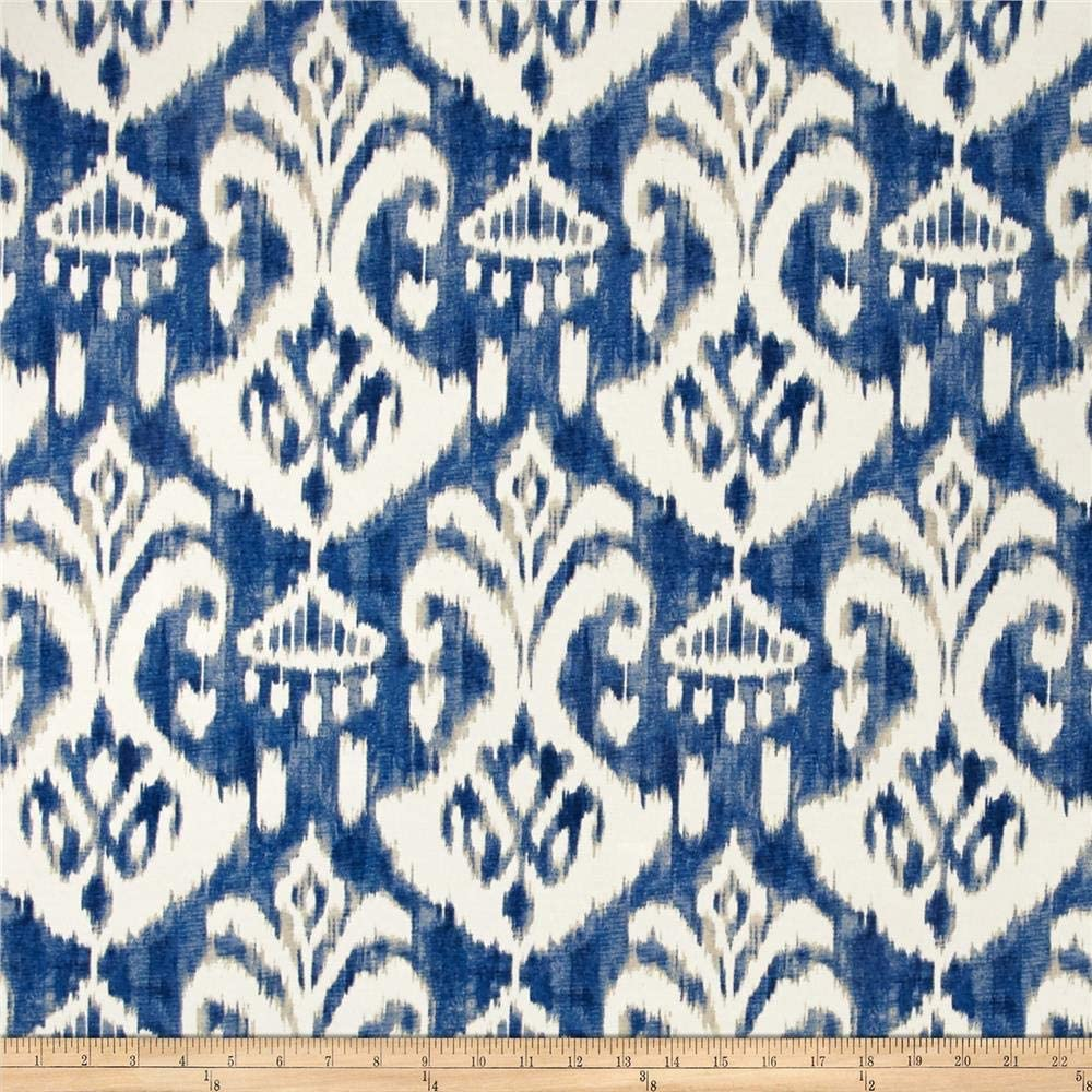 Swavelle Cheap super special price Indoor Outdoor Rivoli Indigo Fabric Yard Brand Cheap Sale Venue by the