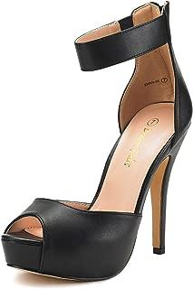 Best black strap heels size 5 Reviews