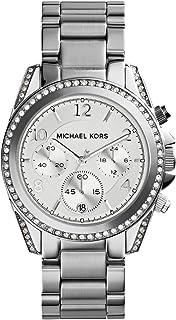 ساعة مايكل كورس للنساء MK5165 فضي بلاير