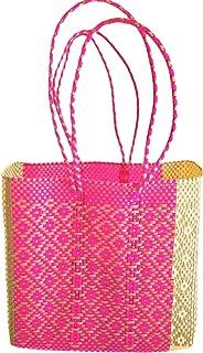 OTOMI MEXICO - Shopper realizzata a mano - Borsa tote in materiale riciclato - Borsa da spiaggia - Beach Bag - Borsa Tote ...