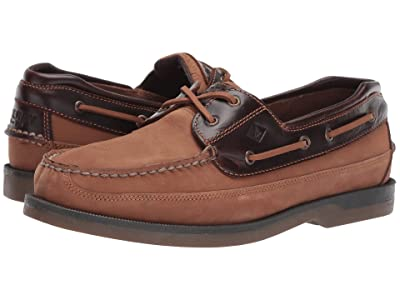 Sperry Mako 2-Eye (Taupe/Amaretto) Men