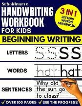 Handwriting Workbook for Kids: 3-in-1 Writing Practice Book