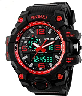 Gosasa Big Dial Digital Watch S Shock Men Military Army Watch Water Resistant LED Sports Watches