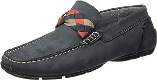US Polo Association Men's Cedar Leather Loafers