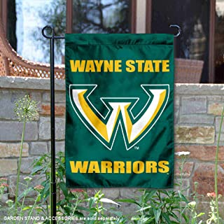 College Flags and Banners Co. Wayne State Warriors Garden Flag