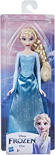 Disney Frozen Shimmer Elsa Fashion Doll, Skirt, Shoes, and Long Blonde Hair, Toy for Kids 3 Years Old and Up