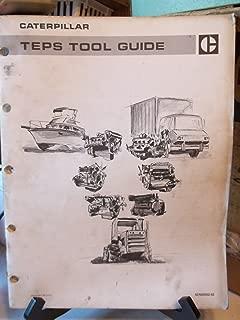 CAT Caterpillar TEPS Tool Guide Service Manual