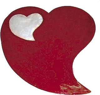 Reila Corazón Gigante, Metacrilato, Rojo, 40x37x0.3 cm