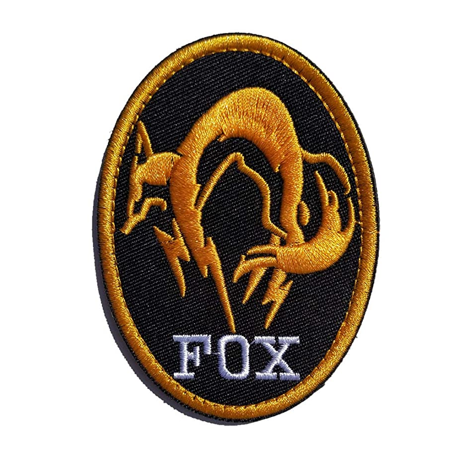 Morton Home Fox Iron on Patch from Metal Gear Solid The Phantom Pain (Yellow)