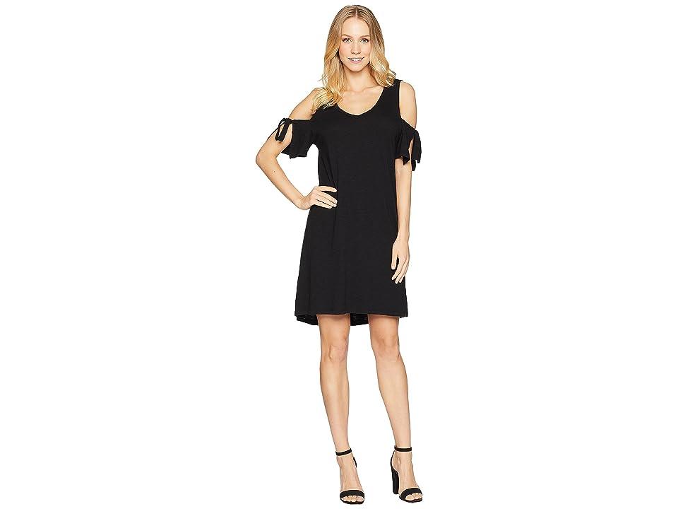 Sanctuary Lakeside T-Shirt Dress (Black) Women