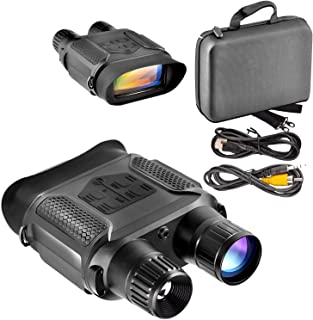 Vanell Infrared Night Vision AV/TV Backlight Support 4-inch Screen High Definition Camera Binocular Telescope for Day or Night IR 5mp Photo & 640p Video