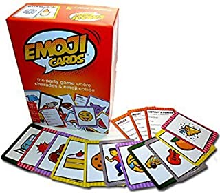 Spicy Doodles Gaming Inc Emoji Cards - a charades Game with Emoji - 1st Edition