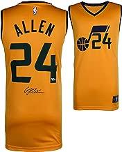 Grayson Allen Utah Jazz Autographed Fanatics Yellow Fastbreak Jersey - Fanatics Authentic Certified - Autographed NBA Jerseys