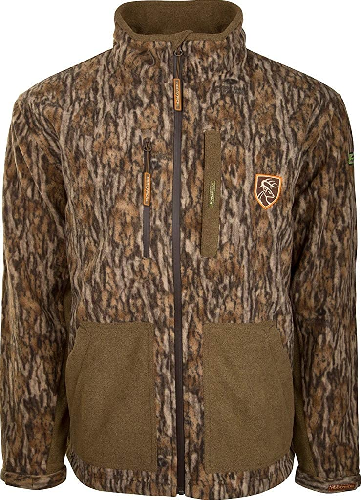 Drake Waterfowl HydroHush Midweight Full Excellent A Jacket Agion with Zip NEW before selling ☆