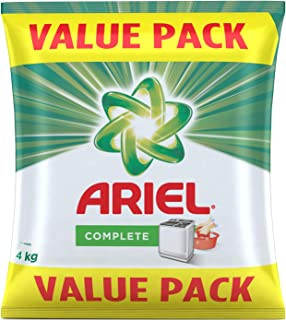 Ariel Complete Detergent Washing Powder- 4Kg Value Pack