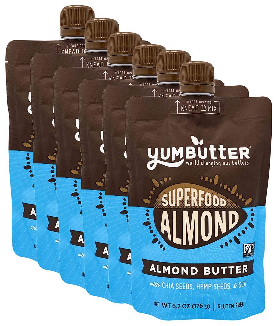 Memphis Mall Superfood Almond Butter by Yumbutter Vegan supreme GM Non Gluten Free