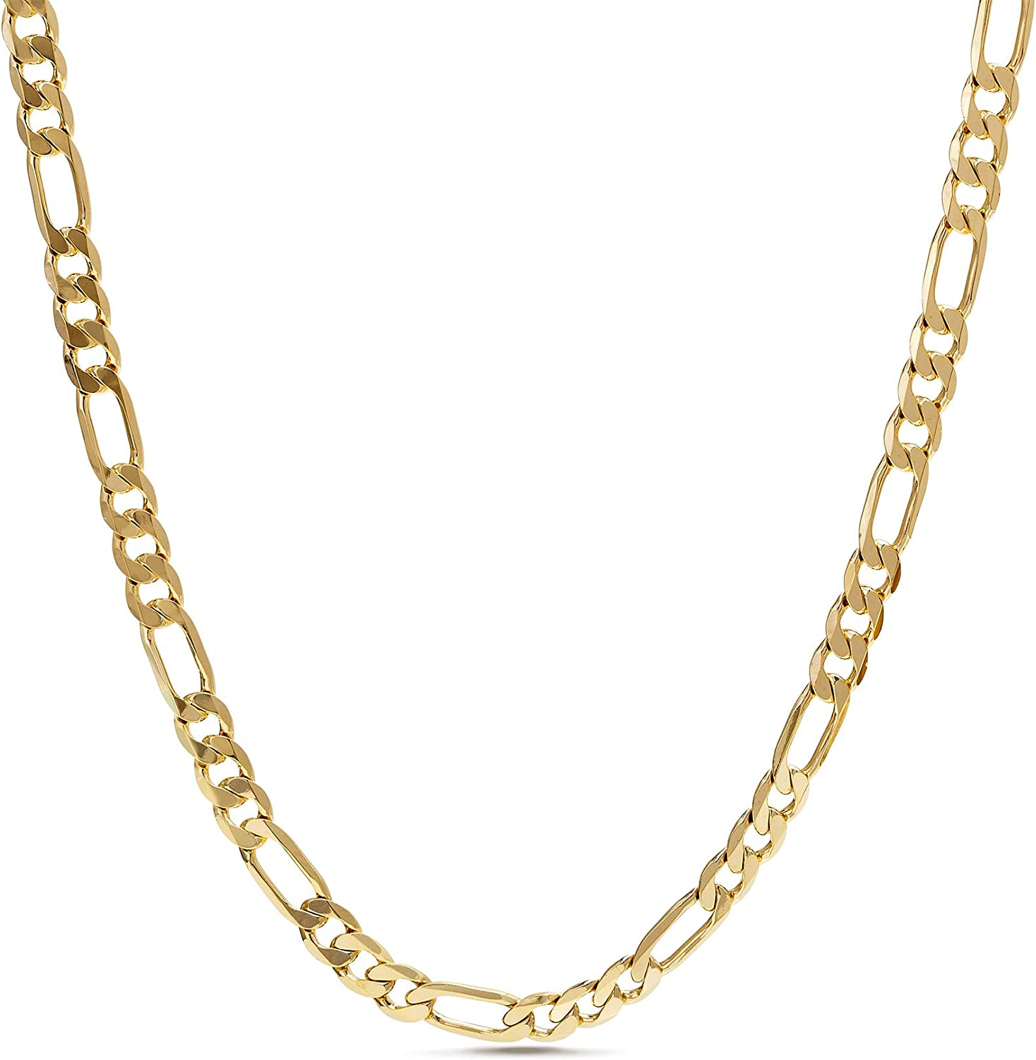 Nautica Cheap mail order sales 1mm OFFicial store - 3mm Figaro Chain Necklace for in Men Women or Yell