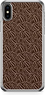 Loud Universe Case For iPhone XS Bakery Coffe Beans Chocalate Transparent Edge iPhone XS Case