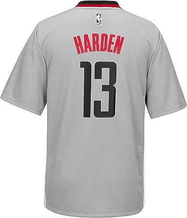 adidas James Harden Houston Rockets #13 Toddler Gray Pride Short Sleeve Replica Jersey