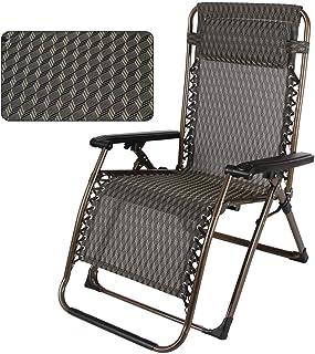 Mobilier de jardin Yocobo Chaise zéro gravité Chaise de