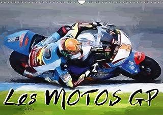 Les motos GP: Série de 12 tableaux sur l'univers des courses de motos: Série de 12 tableaux sur l'univers des courses de m...