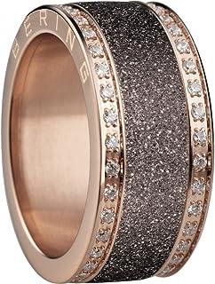 Bering Arctic Symphony interior anillo ultra-estrecho negro 561-69-x0 Sparkling