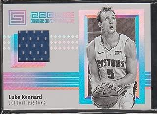 2017-18 Status Luke Kennard Pistons Rookie Jersey Basketball Card #RE-LKN