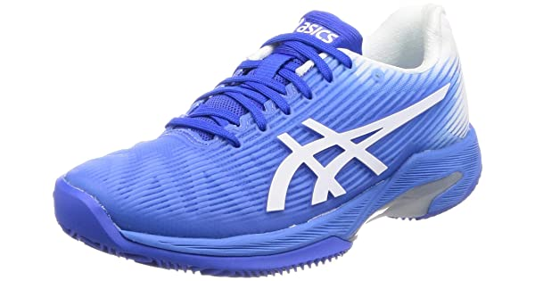 ASICS dames Solution Speed FF Clay zandschoen blauw, wit