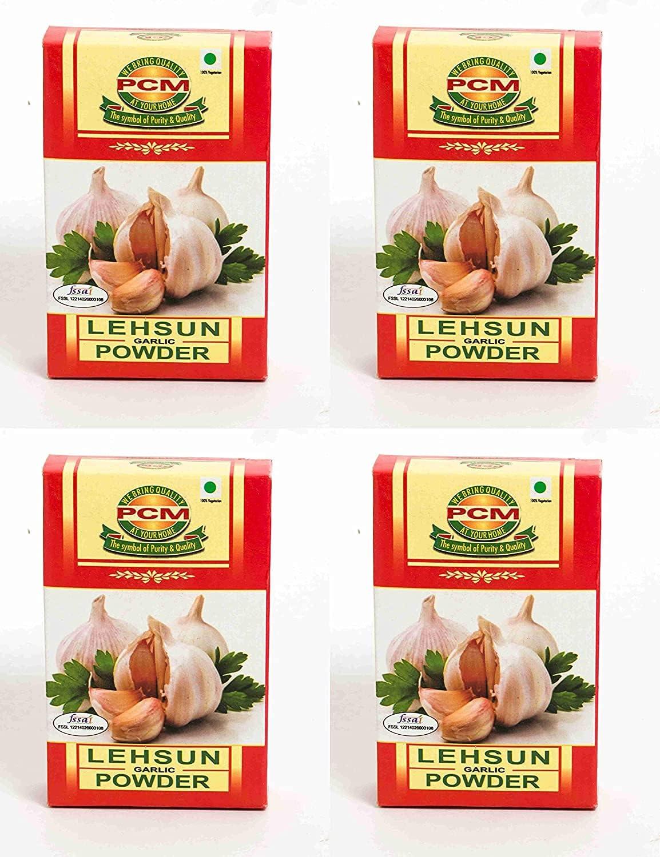 Topics on TV Jexmon PCM Lehsun Garlic Powder Masala Pack x 4 100g of Max 82% OFF