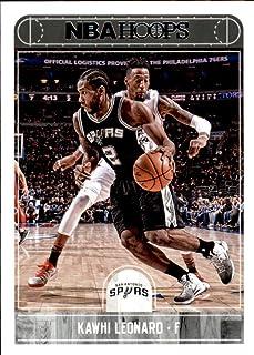 2017-18 Panini Hoops #192 Kawhi Leonard San Antonio Spurs Basketball Card