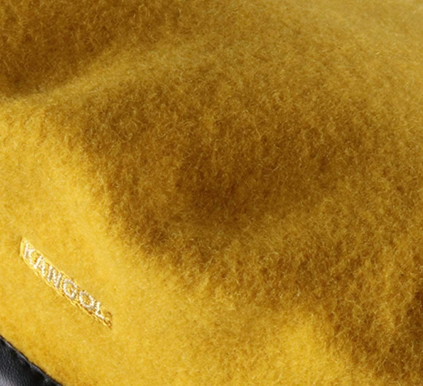 Yellow Kangol Wool Monty Beret