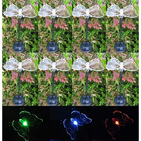 SOLAR BUTTERFLIES-Sun Powered Color Changing Butterfly 2 sided Kids T shirt S L
