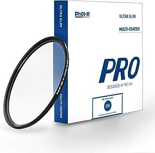 Phot R 82mm PRO Schlank UV Schutz Gewinde Filter für Spiegelreflexkamera Obje.