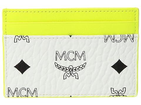 MCM Geonautic Visetos Card Case Mini