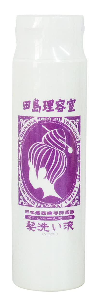 驚き死の顎フィヨルド田島理容室 髪洗い液 「グンナシャンプー」(ダメージヘア用)