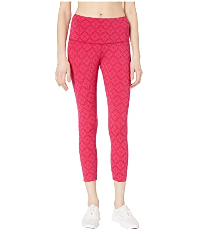 Kate Spade New York Athleisure Floral Spade Leggings (Kinetic Pink) Women