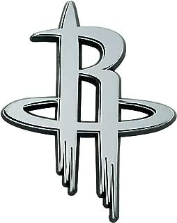 FANMATS NBA Houston Rockets Chrome Emblemchrome Emblem, Team Colors, One Sized