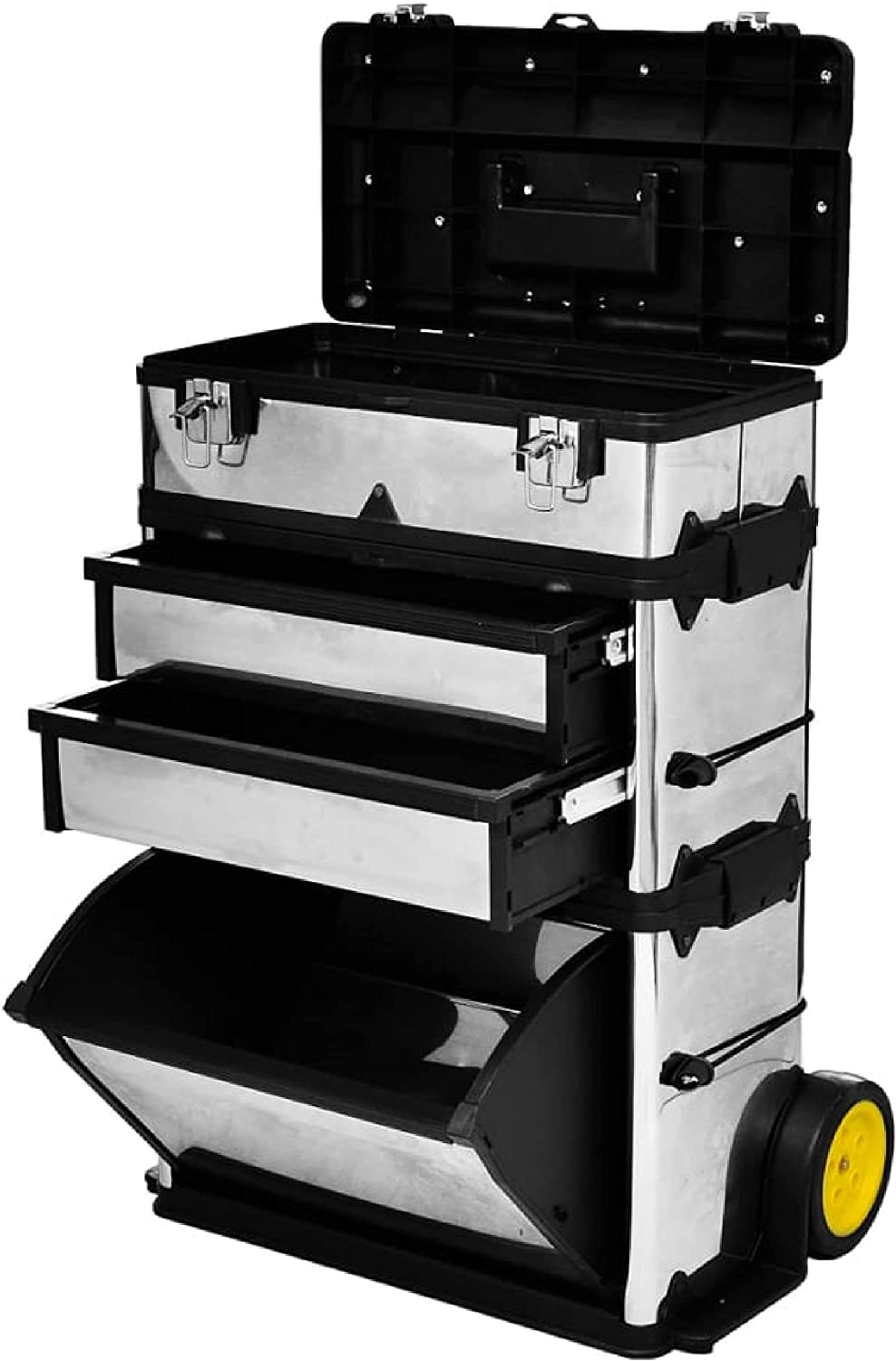KA Company mart Tool Cabinet Chest Popular products Box with Rolling 3-Part 2