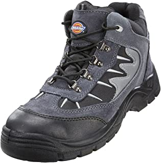 HIMALAYAN 9810 S1P black brogue metal-free safety shoe with midsole size 6-12