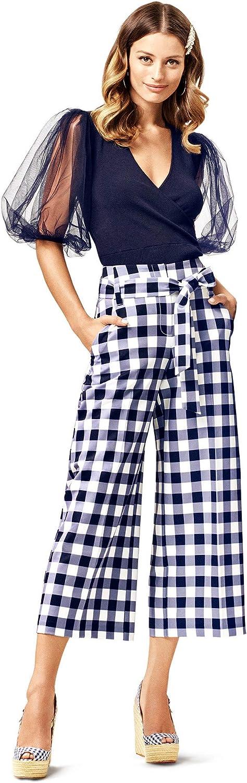 New York & Co. Women's Madie Wide-Leg Capri Pant - 7Th Avenue