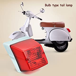 12V Hi-quality E-Mark Tail Light for Vespa Old P PE PX 125 150 200 T5 Scooter LML Star Stella Belladonna NV 2 STROK NV 4 STROKE STAR EURO 200 STAR EURO 150 1980-2014
