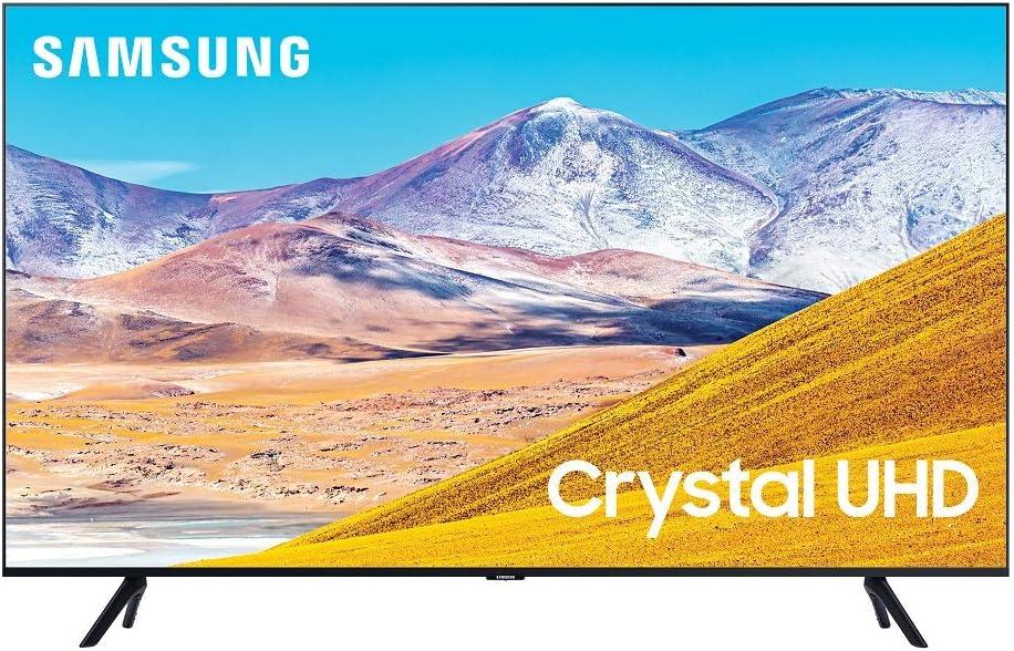 SAMSUNG 75-inch Class Crystal UHD TU-8000 Series - 4K UHD HDR Smart TV with Alexa Built-in (UN75TU8000FXZA, 2020 Model)