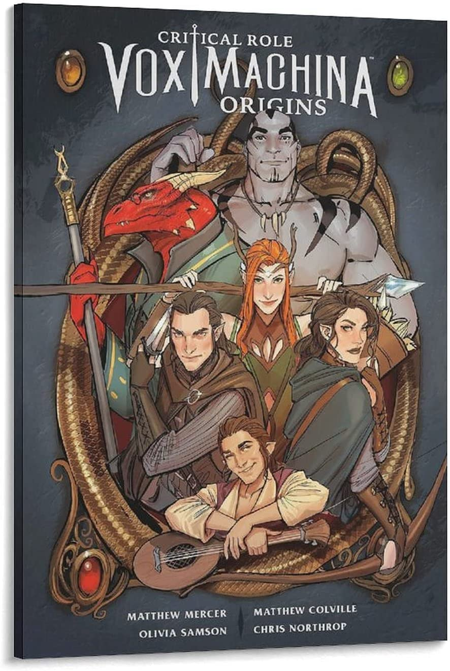 Max 90% OFF ANXI Vox Machina Origins Long Beach Mall Poster P Canvas Art and Wall