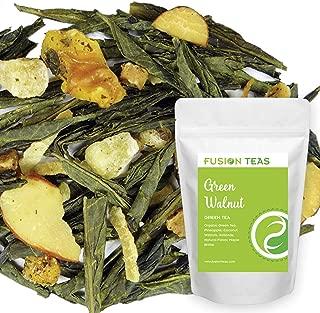 Green Walnut Green Tea With Pineapple, Coconut, Almonds & Maple - Gourmet Loose Leaf Sencha Tea - 5 Oz. Pouch
