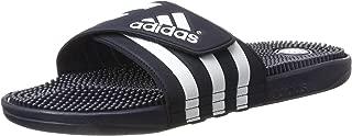 adidas Men's Adissage Beach & Pool Shoes, Black/FTWR White, 10 UK 44 2/3 EU