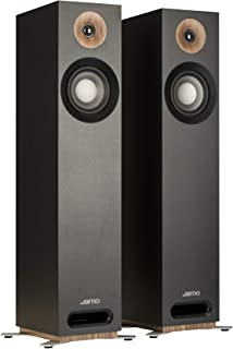 Jamo Studio Series S 805-BLK Black Floorstanding Speakers - Pair