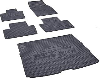 Nouveau Tapis de coffre Volvo v90 à partir de 2016 Tapis De Voiture Velour TUNING Accessoires Noir