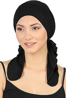 TININNA Damen Mode einfarbig Muslimische Turban h/üte Kopftuch Kopfbedeckung Nachtm/ütze Beanie Bandana Hut Headwraps Chemo m/ütze f/ür Haarausfall Krebs-Chemotherapie