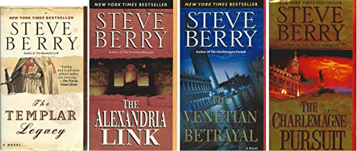 The Cotton Malone Thriller Series 4-Book Set, Books 1-4: The Templar Legacy, The Alexandria Link, The Venetian Betrayal, and The Charlemagne Pursuit