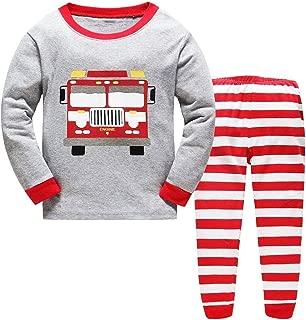 Boys Pajamas Cotton PJS Toddler Sleepwear Bottoms Sets Clothes for Kids Size 1 2 3 4 5 6 T